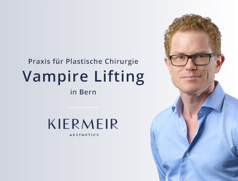 Vampir Lifting in Bern - Dr. David Kiermeir