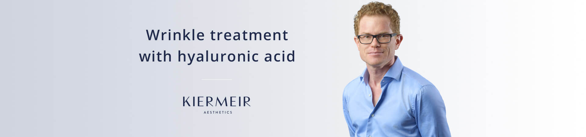 Wrinkle Treatment with Hyaluronic Acid in Bern by Dr. Kiermeir