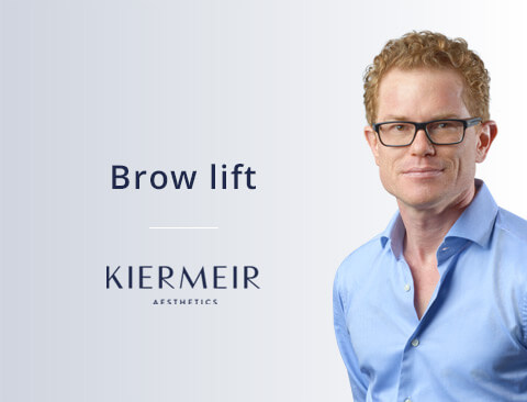 Brow Lift in Bern by Dr. Kiermeir